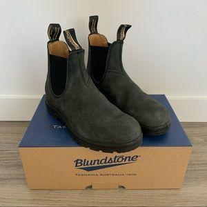 Blundstone 587 Classic Boots Rustic Black